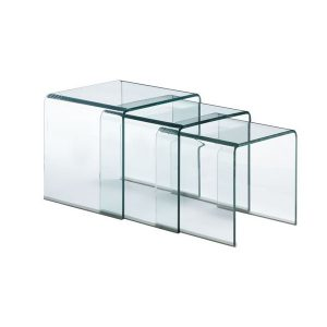 hot curved glass