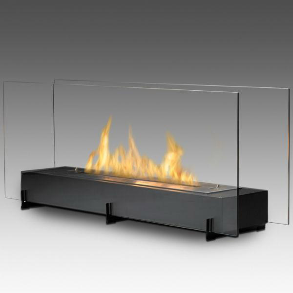Fireplace-glass