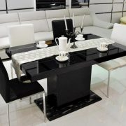 black-colored-glass-table