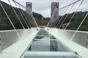 SGP glass bridge